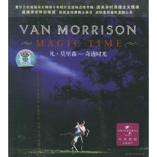 凡·莫里森:奇迹时光(cd)