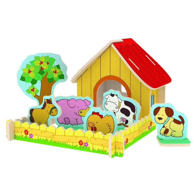 木质拼搭玩具