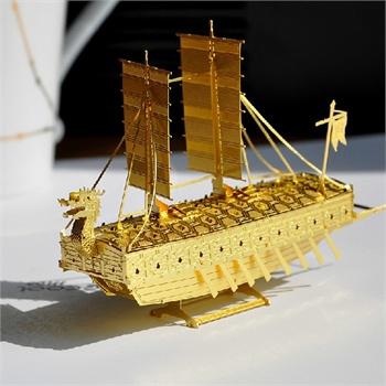 手工制作创意古代船