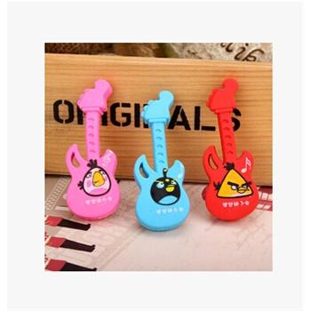 韩国文具可爱卡通 动物橡皮擦 仿香蕉 卡通橡皮 小学生奖品礼品_吉它