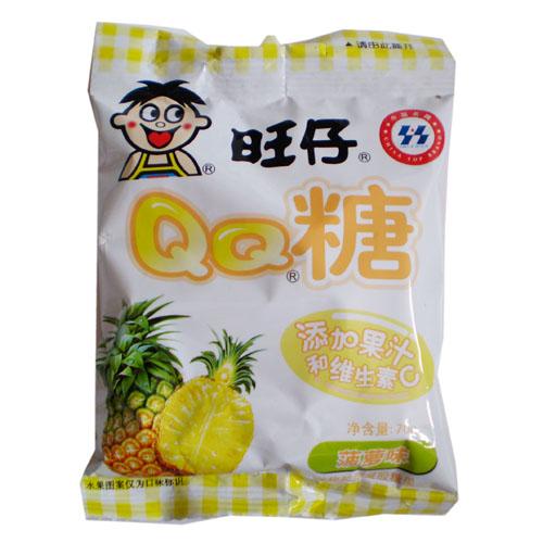 70g旺旺qq糖(菠萝)图片