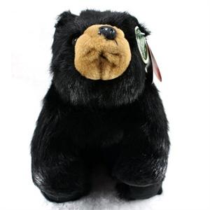 黑色毛绒熊熊 14寸