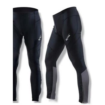 新款骑行裤长裤高弹海绵坐垫男女山地车自行车装备 酷驰_黑色,xxxl