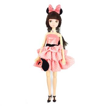 可儿 芭比娃娃迪士尼系列关节体甜美可爱洋娃娃女孩礼物玩具 6087米奇