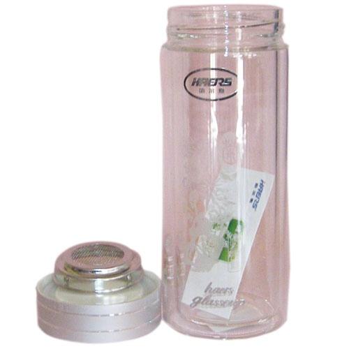 哈尔斯 350ml保温玻璃杯hbl-350-4