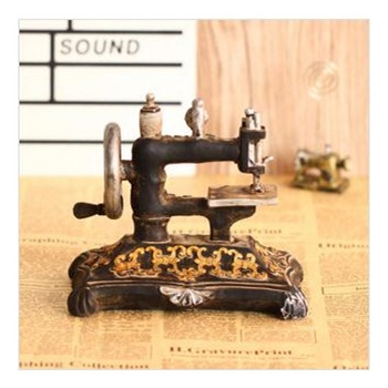 外贸欧式古董缝纫机摆件