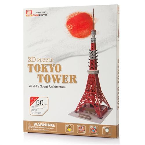 3d立体拼图 东京铁塔