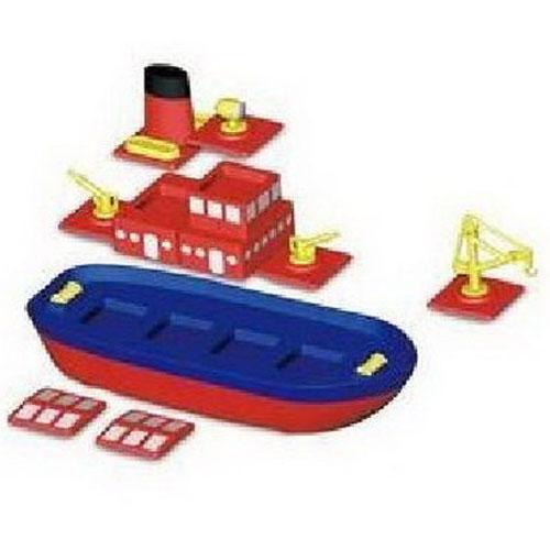 磁力片拼船图解