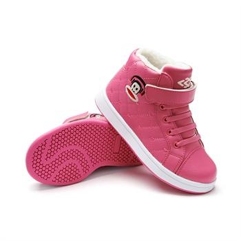 数码熊 童鞋 女孩冬 防水加绒女童鞋冬季儿童鞋子货到