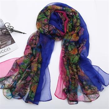 围巾的系法图解内容长真丝围巾的系法图解版面