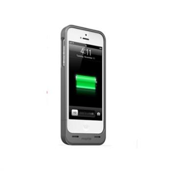 mophie juice pack helium iphone苹果5s/5手机背夹电池_银灰色