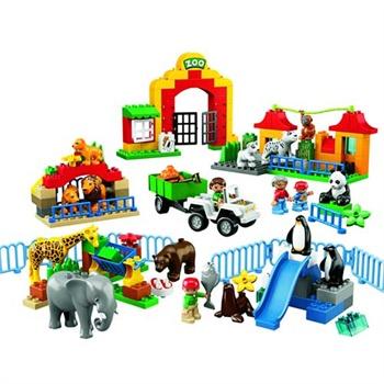 LEGO乐高 得宝主题拼砌系列 6157大型动物园¥758-120=¥638
