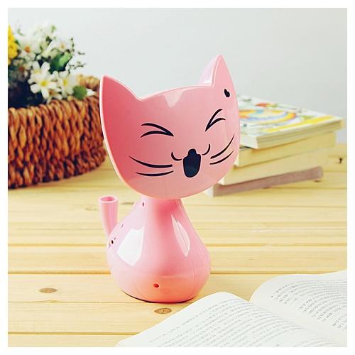 可爱小猫usb充电台灯 读书灯 夜灯 学习台灯_粉色