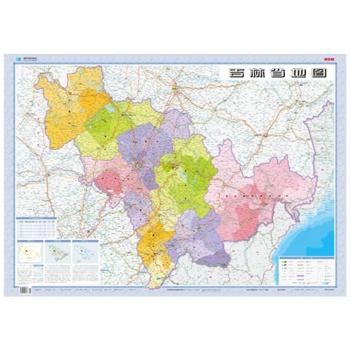 1:85万吉林省地图