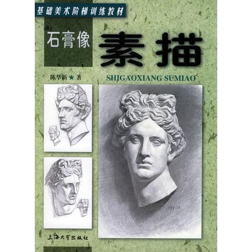石膏像 素描 基础美术阶梯训练教材