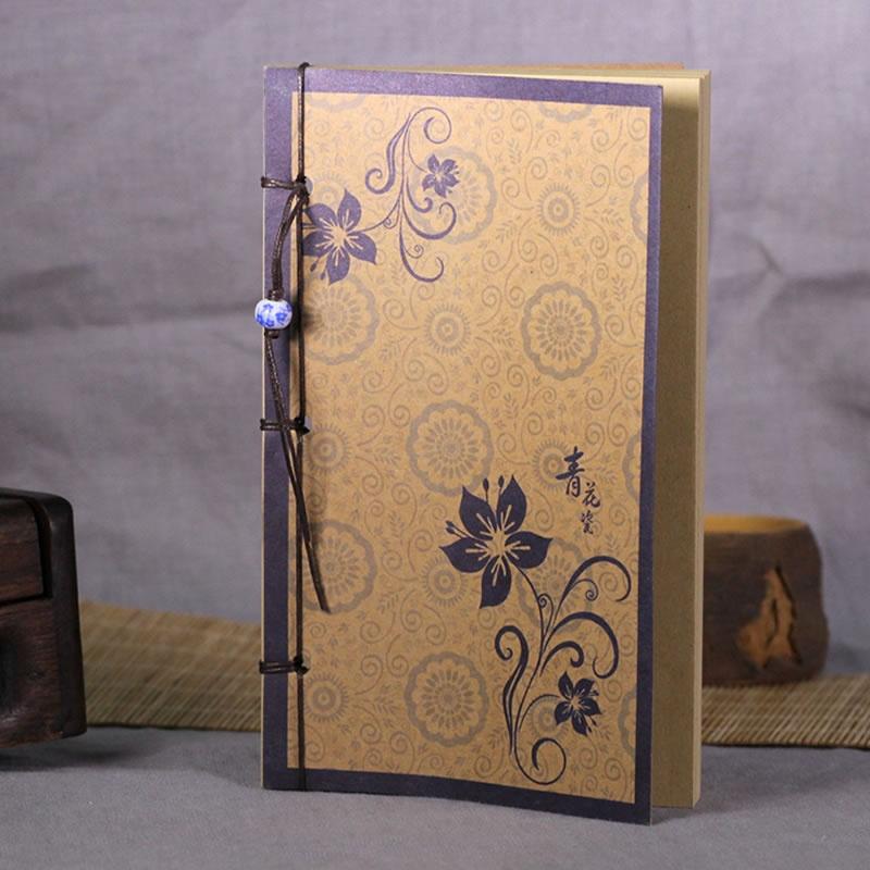 【复古中国风牛皮纸手工笔记本