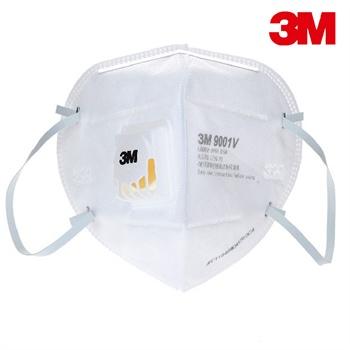 华东有货,3M 9001V KN90级 耳带式防护口罩  25只装/盒 ¥115-50