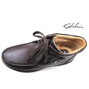 男士棉皮鞋94422645棕色