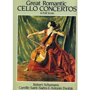 mantic Cello Concertos in Full Score舒曼著名浪漫大提琴协奏曲全谱