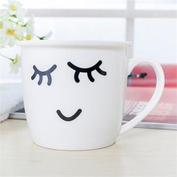 【喜米水杯】可爱卡通陶瓷杯子杯马克杯具早餐牛奶杯
