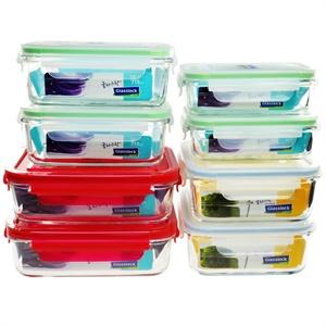 三光云彩 钢化耐热玻璃保鲜盒二件套 ¥39.9 包邮