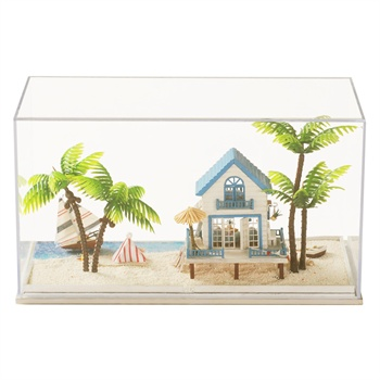 diy小屋手工模型拼装小房子