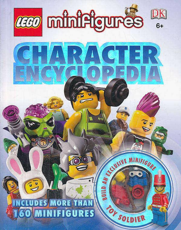 lego· minifigures character encyclopedia 乐高系列:迷你人仔大全