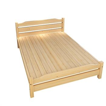床_家乐铭品实木床f202 成人木床松木床 单人床 双人床 环保原木_原木无
