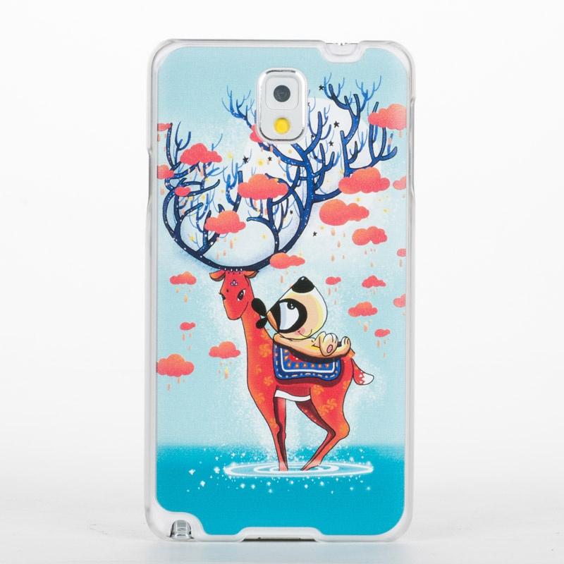 三星note3-手机套 韩国 三星note3手机保护套 n9008卡通套n9009_冥想