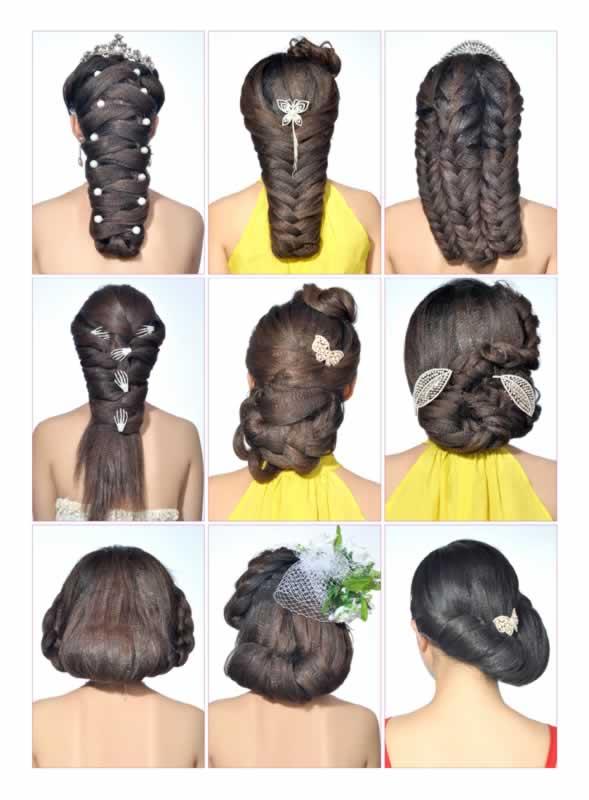 当日新娘发型设计实例教程