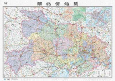 地图·湖北省地图