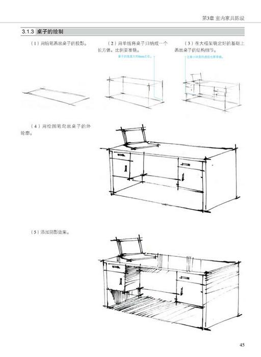 印象手绘 室内设计手绘教程