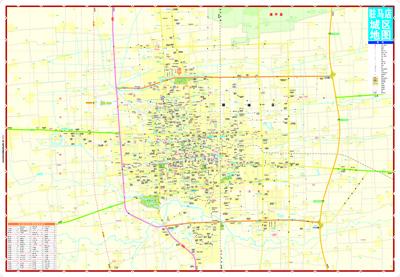 驻马店city城市地图