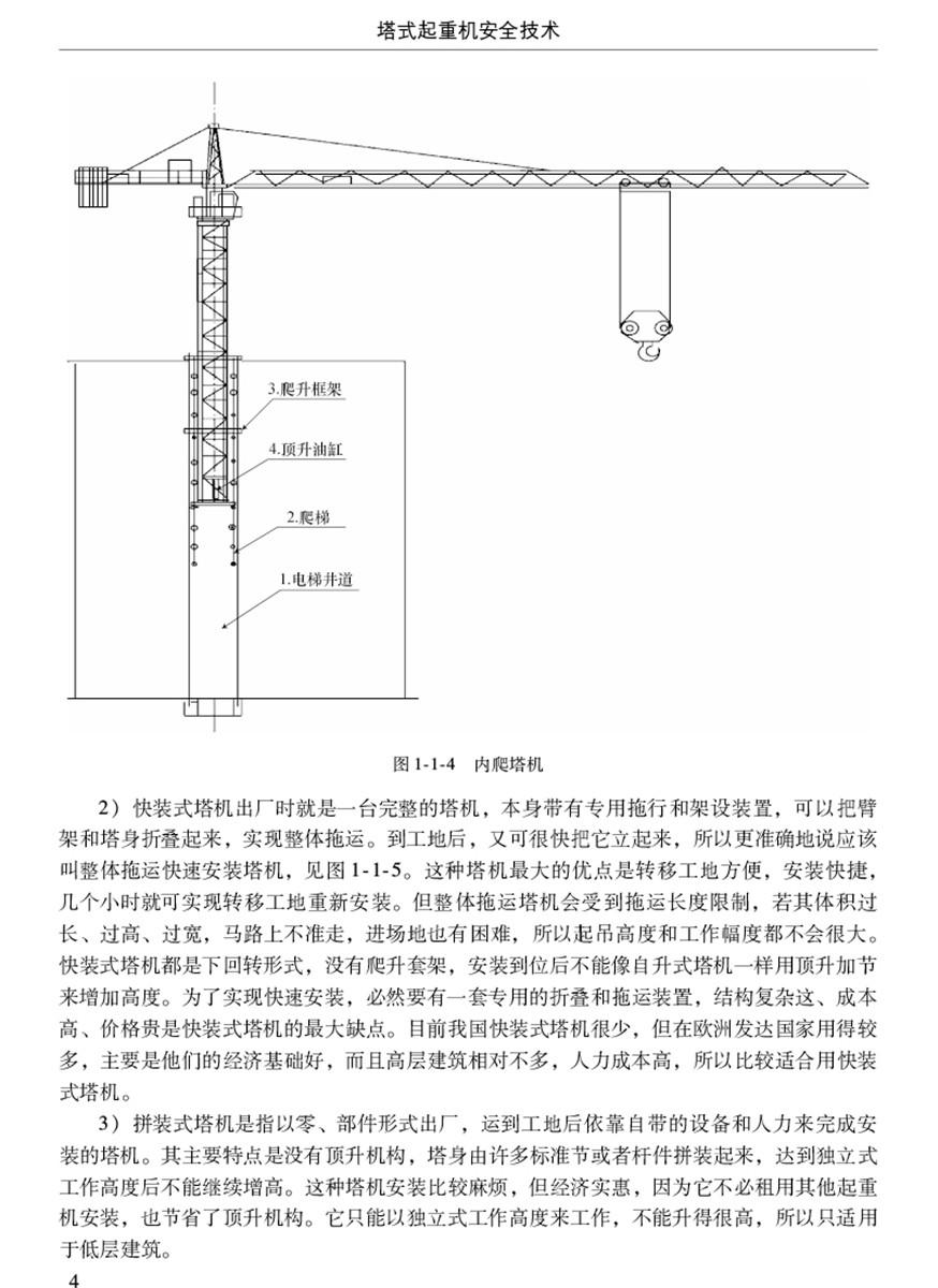 塔式起重机安全技术