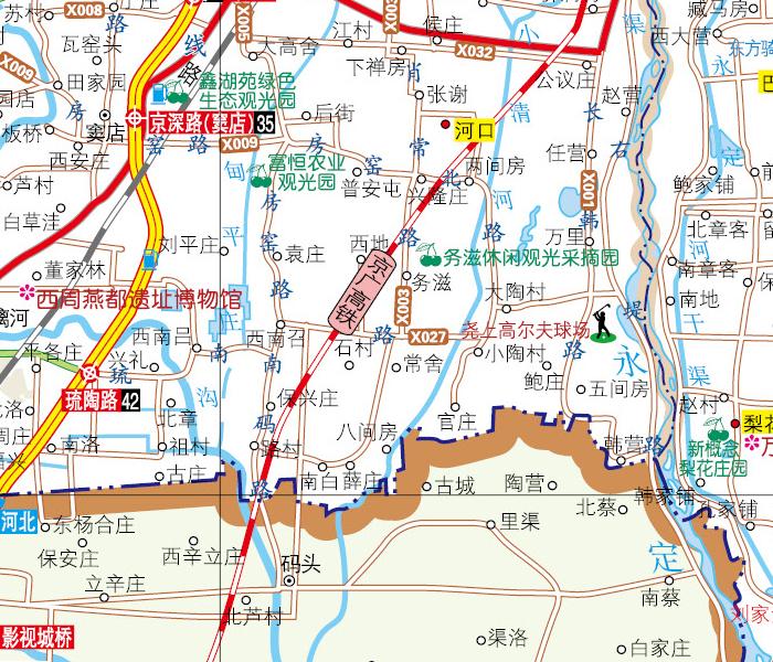 2015北京交通旅游地图   &nbsp&nbsp出差旅游便携口袋书,全新北京郊区