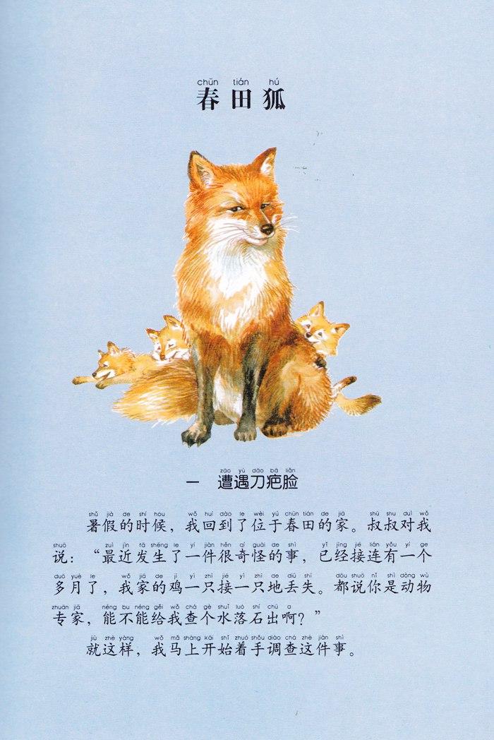 《西顿动物小说全集(彩绘拼音版)——威尼佩格狼》