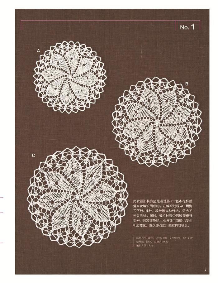手工/diy 毛线编织/绳编 孔斯特艺术蕾丝编织  作者简介   北尾惠以子