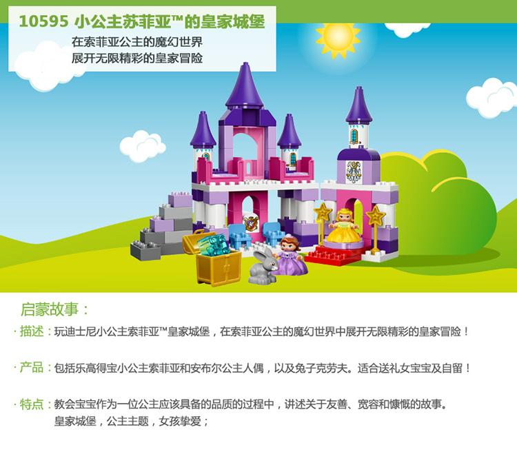 小公主苏菲亚的皇家城堡_乐乐简笔画