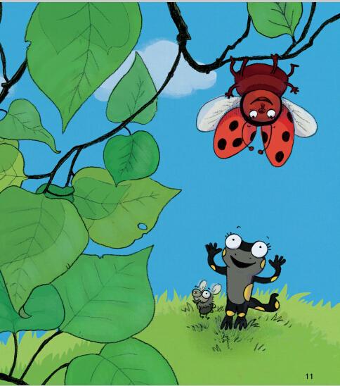 蒲公英动物绘本系列:了不起的菜园小卫士