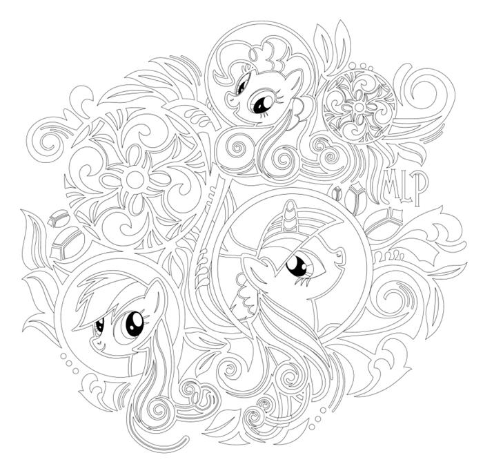 《小马宝莉 孩子们的秘密花园》(1册)是一套3-8岁喜爱小马宝莉的小朋友梦寐以求的涂色绘画宝典。 《小马宝莉 孩子们的秘密花园》全书包含70多张精致唯美的黑白图案,给小马宝莉迷带来震撼的视觉体验。小朋友既可以独立用缤纷画笔尽情涂画,又可以做亲子活动,和爸爸妈妈一起边涂色、边寻找华丽线条中隐藏着的小惊喜。在涂色的过程中,小朋友能观察画面的细节,感受线条的变化,逐渐掌握色彩运用,体验笔触划过纸张的奇妙感觉,激发想象力,提高审美。