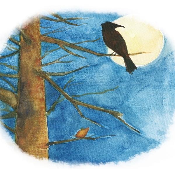 最小孩童书61最动物系列:第十二只枯叶蝶(彩绘