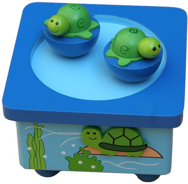 new classic toys 荷兰品牌 乌龟音乐盒 nt8206图片