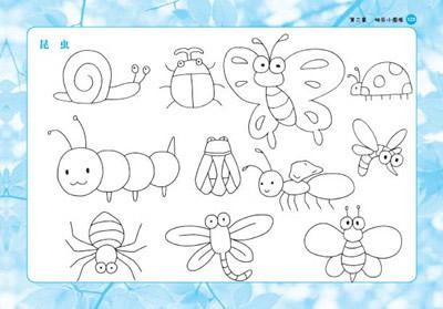 带儿歌的简笔画大全,37种带儿歌的简笔画,带儿歌的儿童简笔画 第11页 大山谷图库