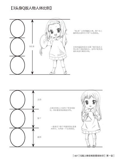 q版人物表情/动作/服饰100例