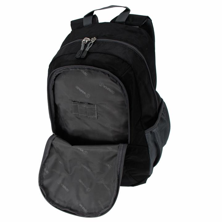 威豹旅行双肩背包1504-黑图片