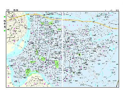 中国水运规划矢量高清图