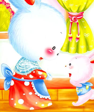 小白兔童书馆*宝宝大画书/芒果派/小兔乖乖/21095160