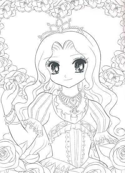 公主怎么画_仙子怎么画_美丽简单的公主怎么画-青花