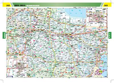2013中国高速公路及路网详查地图集(精确