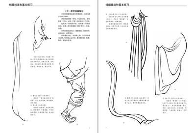 中国人物画线描绘画技法